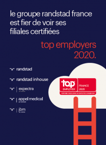 groupe randstad top employer